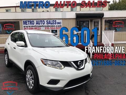 Metro Auto Sales >> Metro Auto Sales Inc Philadelphia Pa
