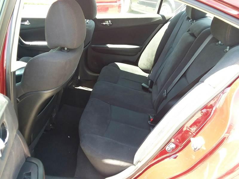 2013 Nissan Maxima for sale at TILTON AUTO SALES INC. in Danville IL