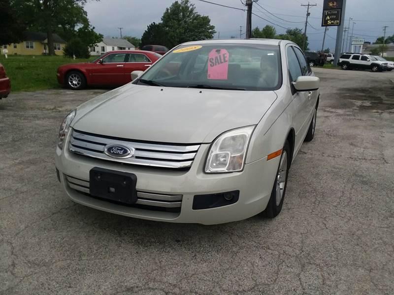 2008 Ford Fusion for sale at TILTON AUTO SALES INC. in Danville IL