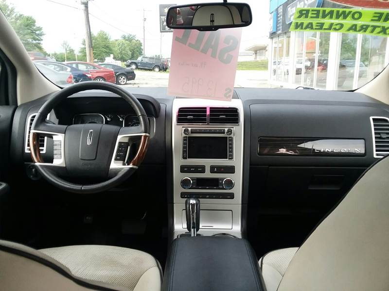 2010 Lincoln MKX for sale at TILTON AUTO SALES INC. in Danville IL