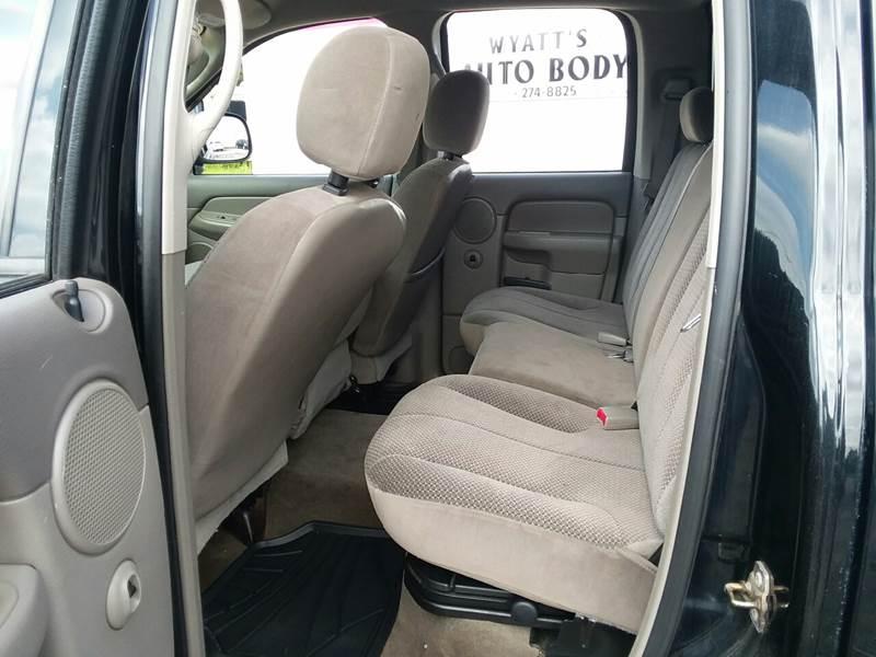 2005 Dodge Ram Pickup 1500 for sale at TILTON AUTO SALES INC. in Danville IL