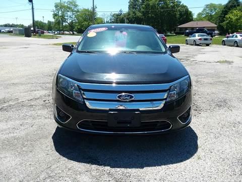 2010 Ford Fusion for sale at TILTON AUTO SALES INC. in Danville IL
