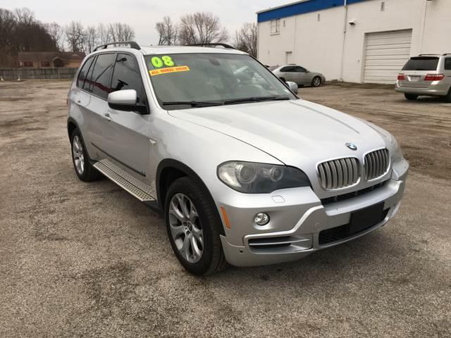 2008 BMW X5 for sale at TILTON AUTO SALES INC. in Danville IL