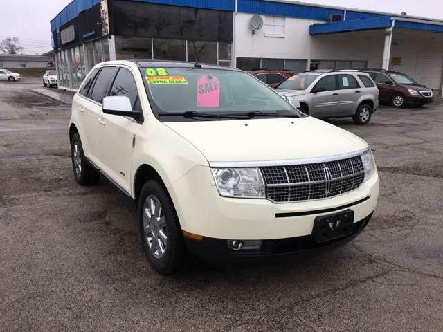 2008 Lincoln MKX for sale at TILTON AUTO SALES INC. in Danville IL