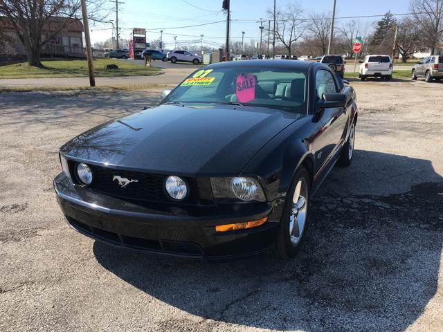 2007 Ford Mustang for sale at TILTON AUTO SALES INC. in Danville IL