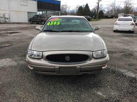 2003 Buick LeSabre for sale at TILTON AUTO SALES INC. in Danville IL