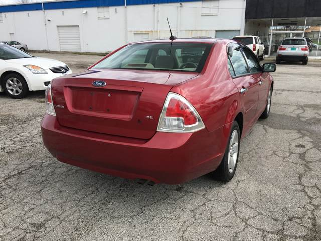 2007 Ford Fusion for sale at TILTON AUTO SALES INC. in Danville IL