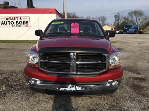 2006 Dodge Ram Pickup 1500 for sale at TILTON AUTO SALES INC. in Danville IL