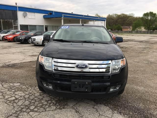 2009 Ford Edge for sale at TILTON AUTO SALES INC. in Danville IL