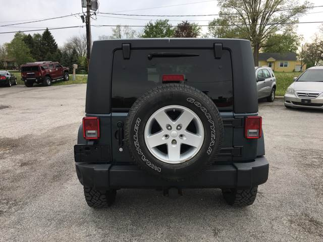 2008 Jeep Wrangler Unlimited for sale at TILTON AUTO SALES INC. in Danville IL