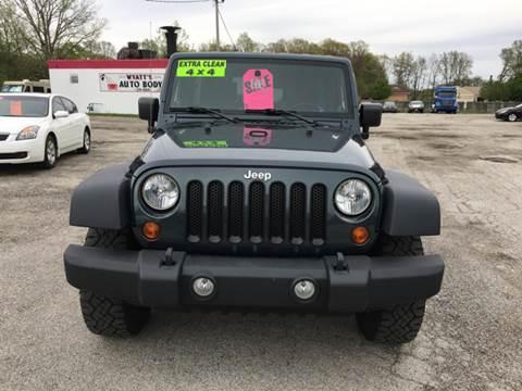 2008 Jeep Wrangler Unlimited for sale at TILTON AUTO SALES INC. in Danville IL