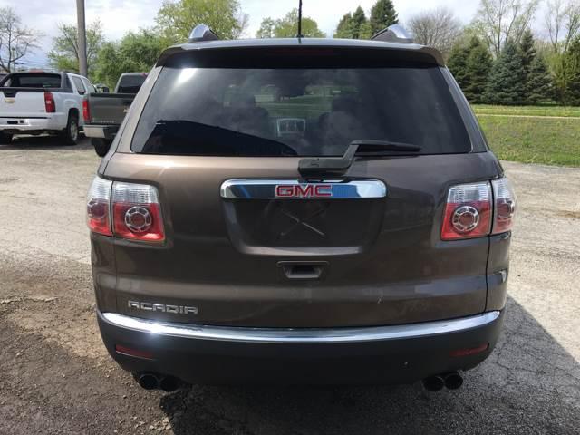 2008 GMC Acadia for sale at TILTON AUTO SALES INC. in Danville IL