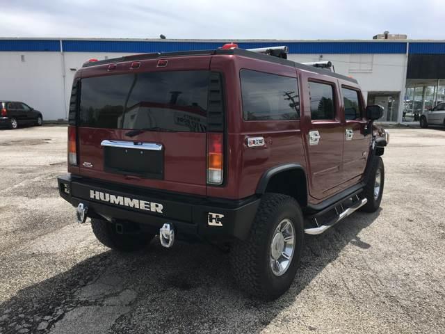 2003 HUMMER H2 for sale at TILTON AUTO SALES INC. in Danville IL