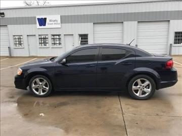 2013 Dodge Avenger for sale at NATIONAL AUTO GROUP in Dallas TX