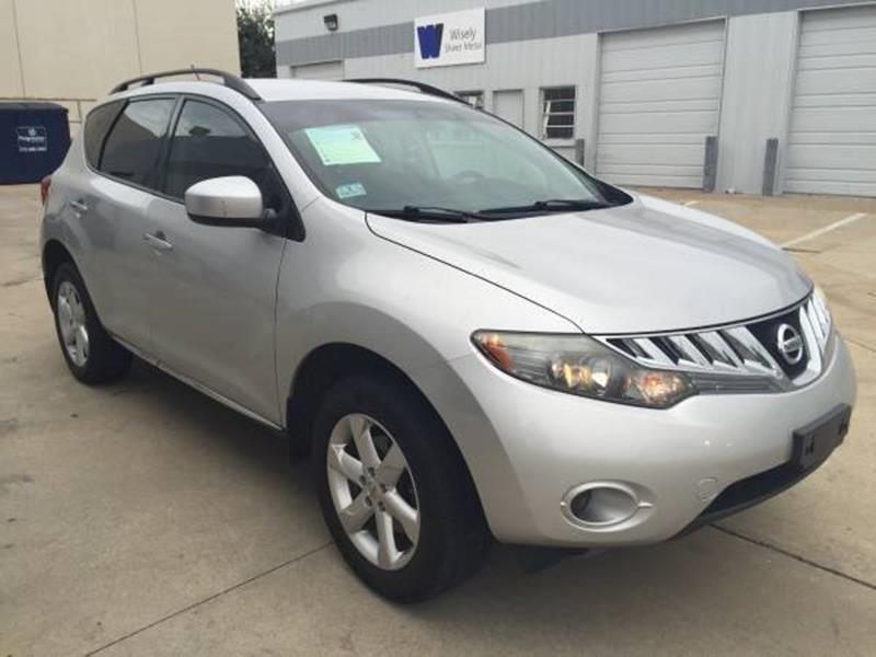 2009 Nissan Murano for sale at NATIONAL AUTO GROUP in Dallas TX