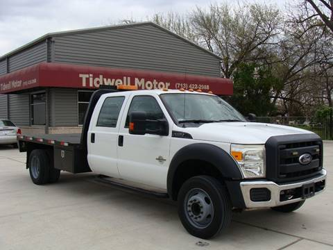 2012 Ford F-550 Super Duty for sale in Houston, TX