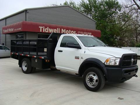 2012 RAM Ram Chassis 5500 for sale in Houston, TX