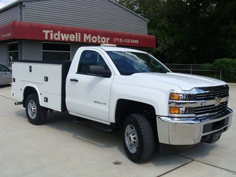 2015 Chevrolet Silverado 2500HD for sale in Houston, TX
