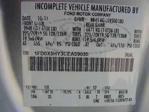 2012 Ford F-550 Super Duty