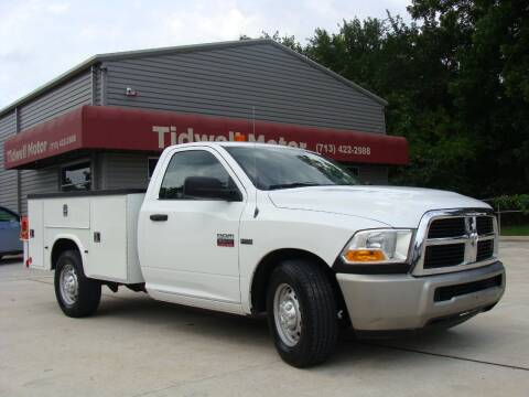 2010 Dodge Ram Chassis 2500 for sale at TIDWELL MOTOR in Houston TX