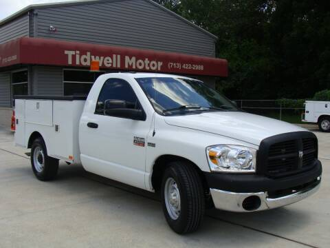 2008 Dodge Ram Pickup 2500 for sale at TIDWELL MOTOR in Houston TX