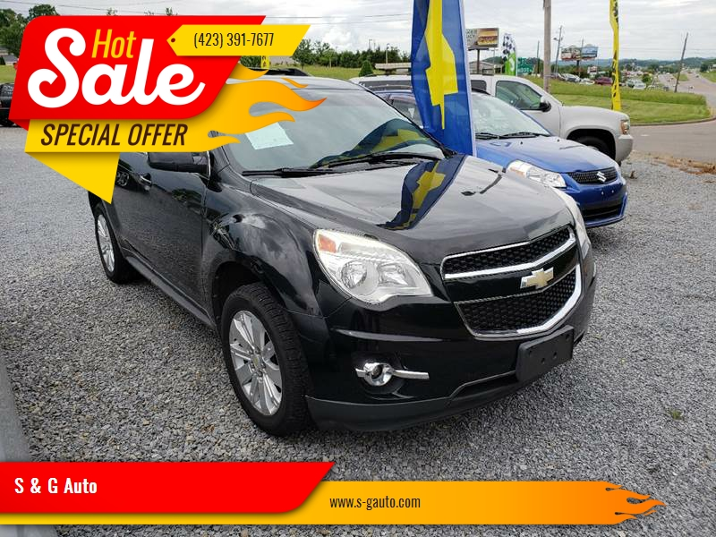 2010 Chevrolet Equinox For Sale At S U0026 G Auto In Piney Flats TN