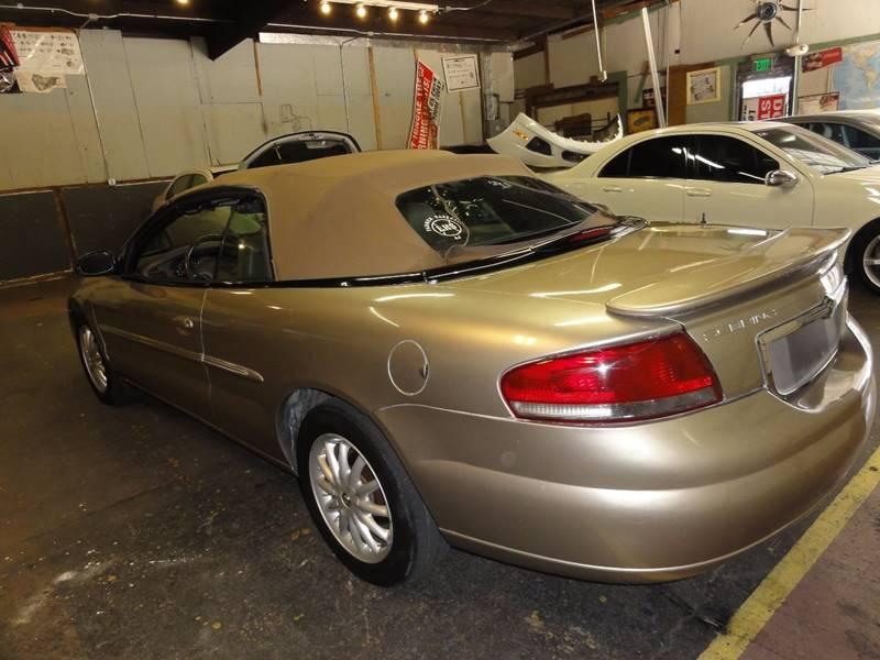 2003 Chrysler Sebring LXi FFV 2dr Convertible - Dallas TX