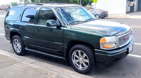 2001 GMC Yukon for sale in Oakdale, CA