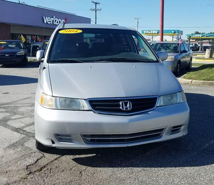 Honda Odyssey 2004 EX L w/DVD 4dr Mini Van and Leather