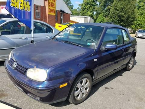 2002 Volkswagen Cabrio for sale in New Castle, DE