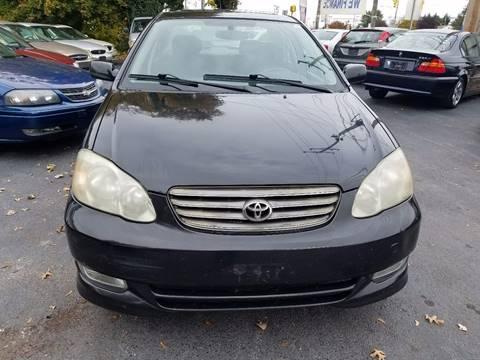 2003 Toyota Corolla for sale in New Castle, DE