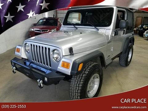 2003 Jeep Wrangler for sale in Villa Park, IL