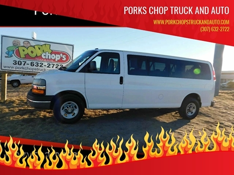 32f695ae0b 2014 Chevrolet Express Passenger for sale at Porks Chop Truck and Auto in  Cheyenne WY