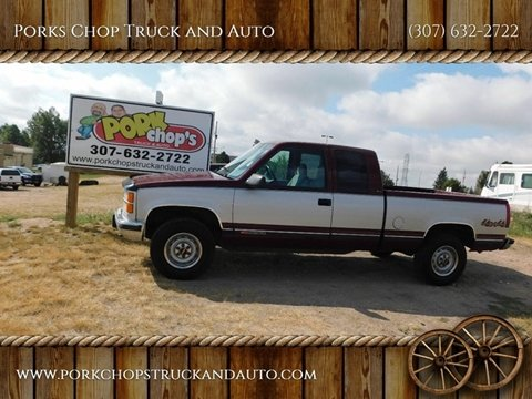 1995 GMC Sierra 2500 for sale in Cheyenne, WY