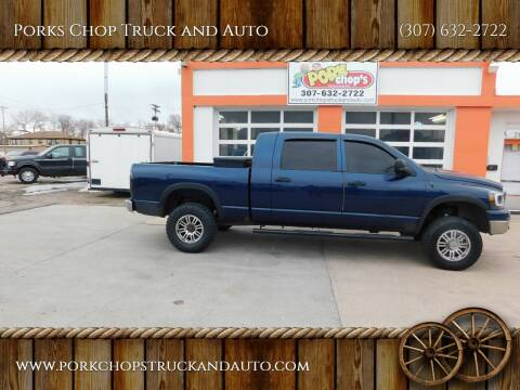 2006 Dodge Ram Pickup 2500 for sale at Porks Chop Truck and Auto in Cheyenne WY