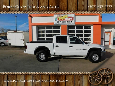 2001 Dodge Dakota for sale at Porks Chop Truck and Auto in Cheyenne WY