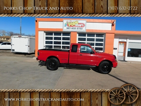 2002 Ford Ranger for sale at Porks Chop Truck and Auto in Cheyenne WY
