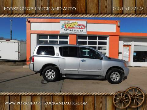 2005 Nissan Armada for sale at Porks Chop Truck and Auto in Cheyenne WY