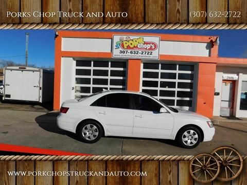 2009 Hyundai Sonata for sale at Porks Chop Truck and Auto in Cheyenne WY