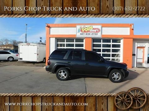 2007 Chevrolet TrailBlazer for sale at Porks Chop Truck and Auto in Cheyenne WY