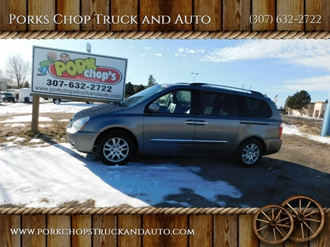 2010 Kia Sedona for sale at Porks Chop Truck and Auto in Cheyenne WY