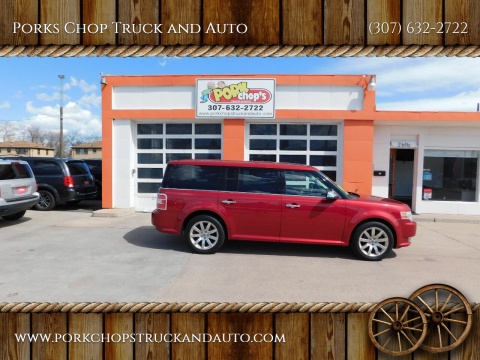 2010 Ford Flex for sale at Porks Chop Truck and Auto in Cheyenne WY