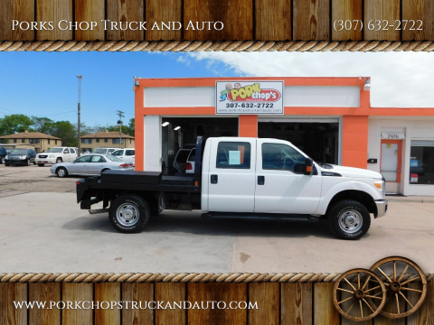 2012 Ford F-250 Super Duty for sale at Porks Chop Truck and Auto in Cheyenne WY