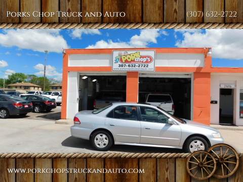 2002 Honda Accord for sale at Porks Chop Truck and Auto in Cheyenne WY