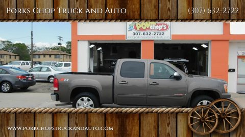 2008 GMC Sierra 1500 for sale at Porks Chop Truck and Auto in Cheyenne WY