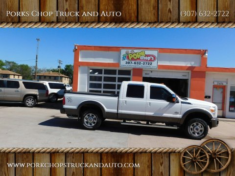 2015 Ford F-250 Super Duty for sale at Porks Chop Truck and Auto in Cheyenne WY