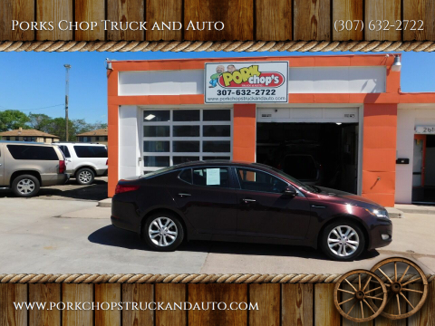 2013 Kia Optima for sale at Porks Chop Truck and Auto in Cheyenne WY
