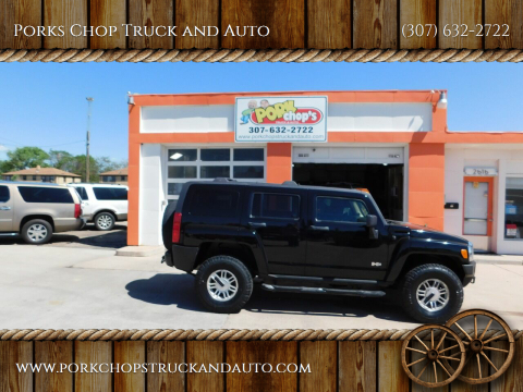 2006 HUMMER H3 for sale at Porks Chop Truck and Auto in Cheyenne WY