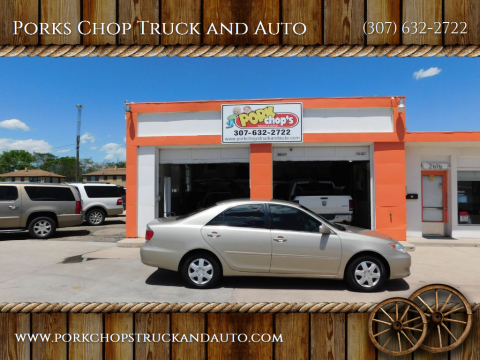 2006 Toyota Camry for sale at Porks Chop Truck and Auto in Cheyenne WY