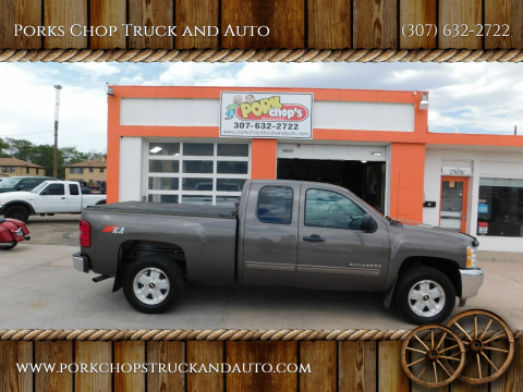 2013 Chevrolet Silverado 1500 for sale at Porks Chop Truck and Auto in Cheyenne WY